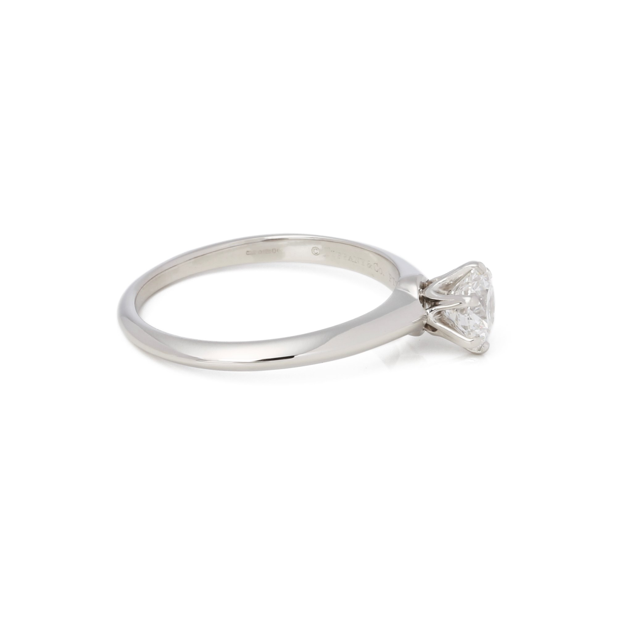 Tiffany & Co. Brilliant cut 0.93ct Diamond Solitaire Ring