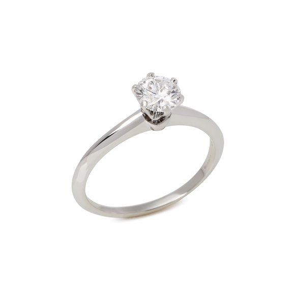 Tiffany & Co. Brilliant cut 0.93ct Diamond Solitaire Ring
