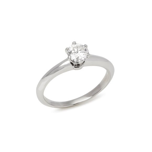 Tiffany & Co. Brilliant cut 0.58ct Diamond Solitaire Ring