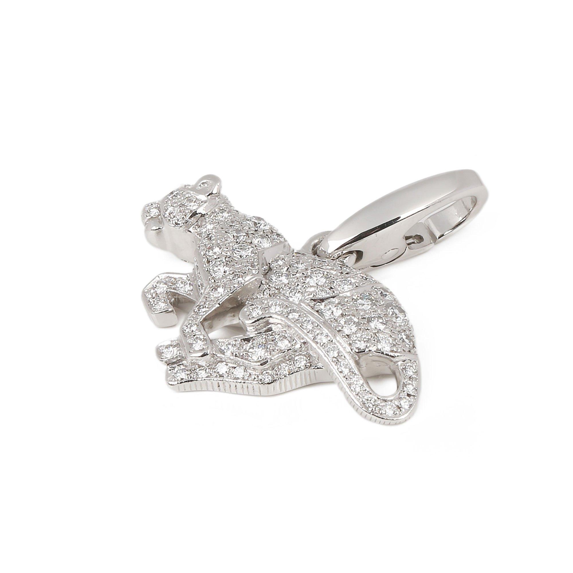 Cartier Diamond Panther Charm