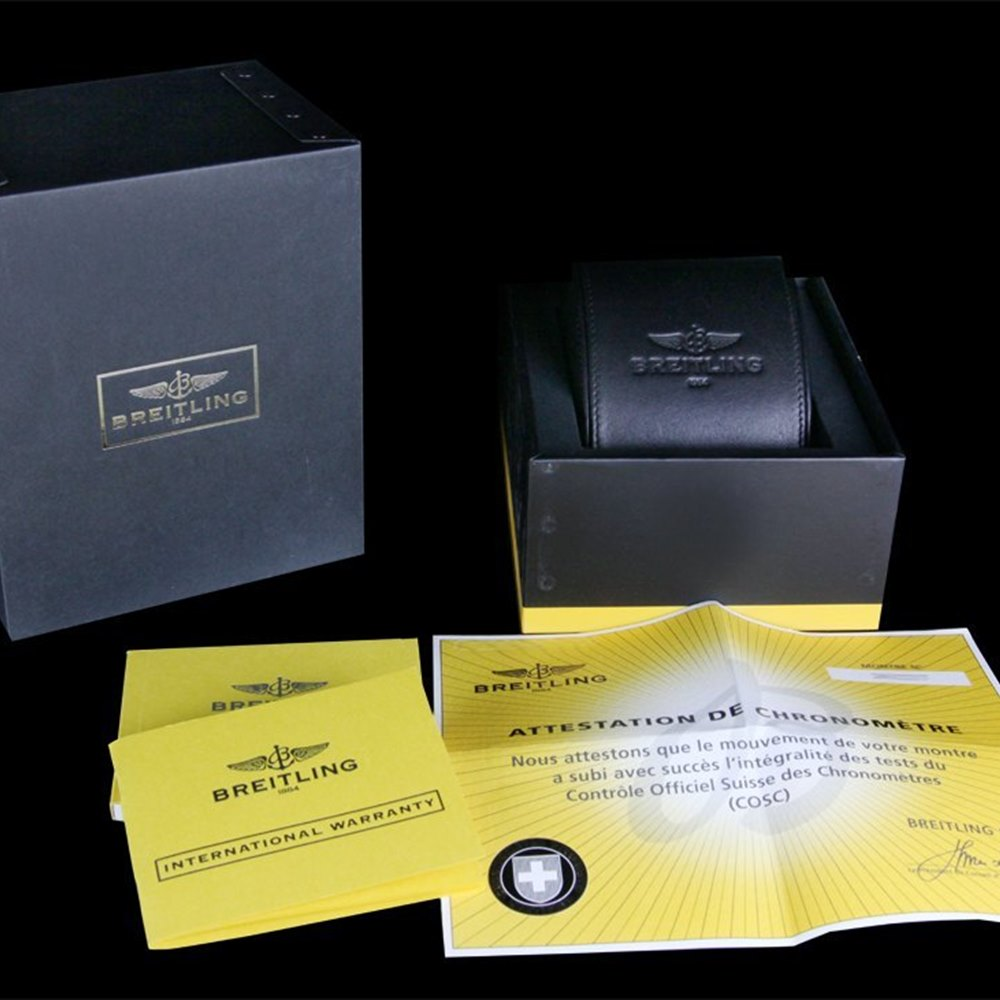 Breitling Chronomat Blackbird Stainless Steel A4436010/BB71/379A