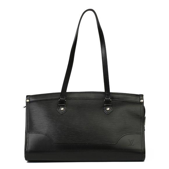 Louis Vuitton Black Epi Leather Madeline