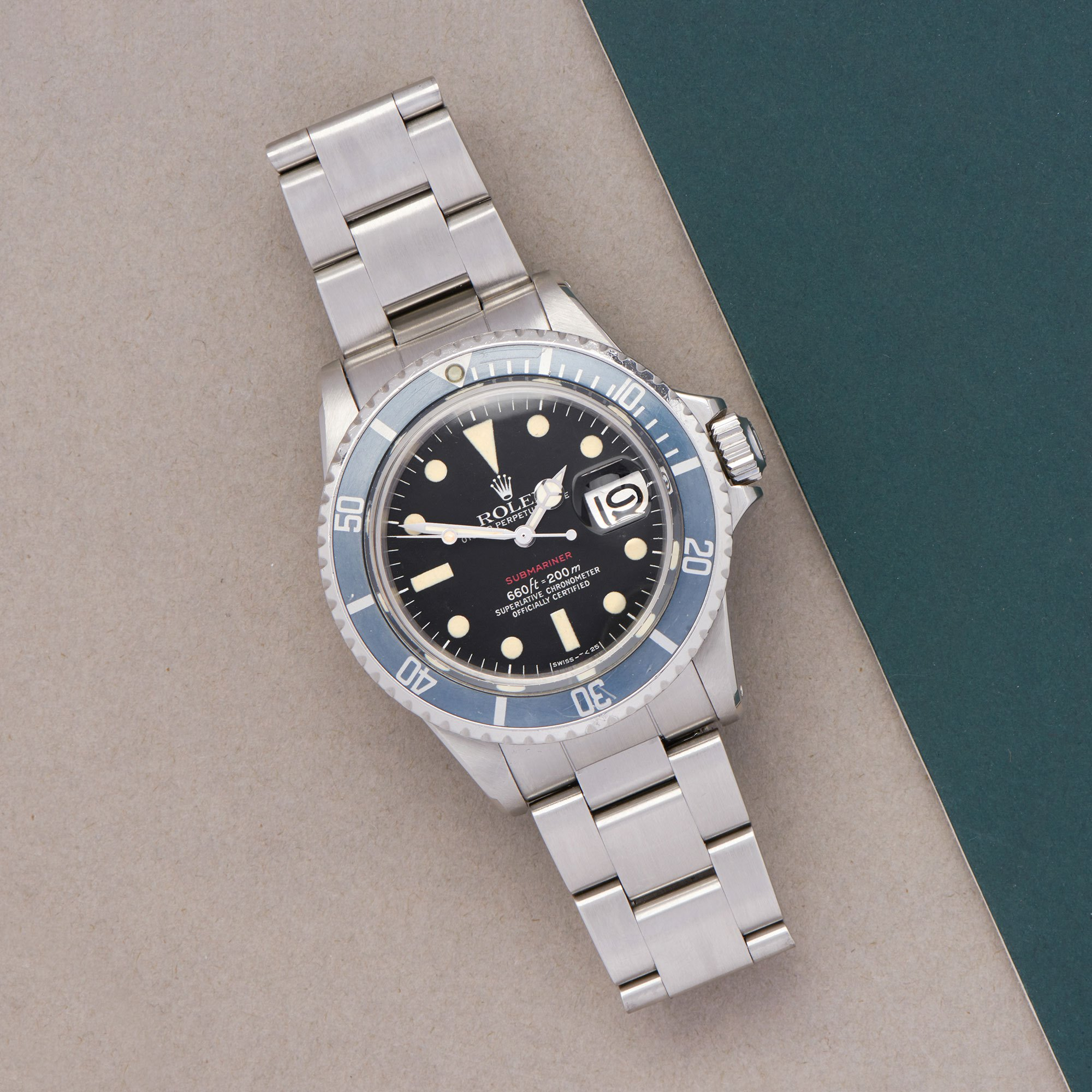 Rolex Submariner Date 'Single Red' Stainless Steel - 1680 Roestvrij Staal 1680