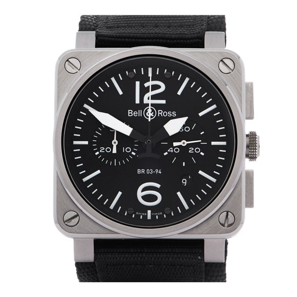 Bell & Ross BR03-94 Chronograph Stainless Steel - BR03-94