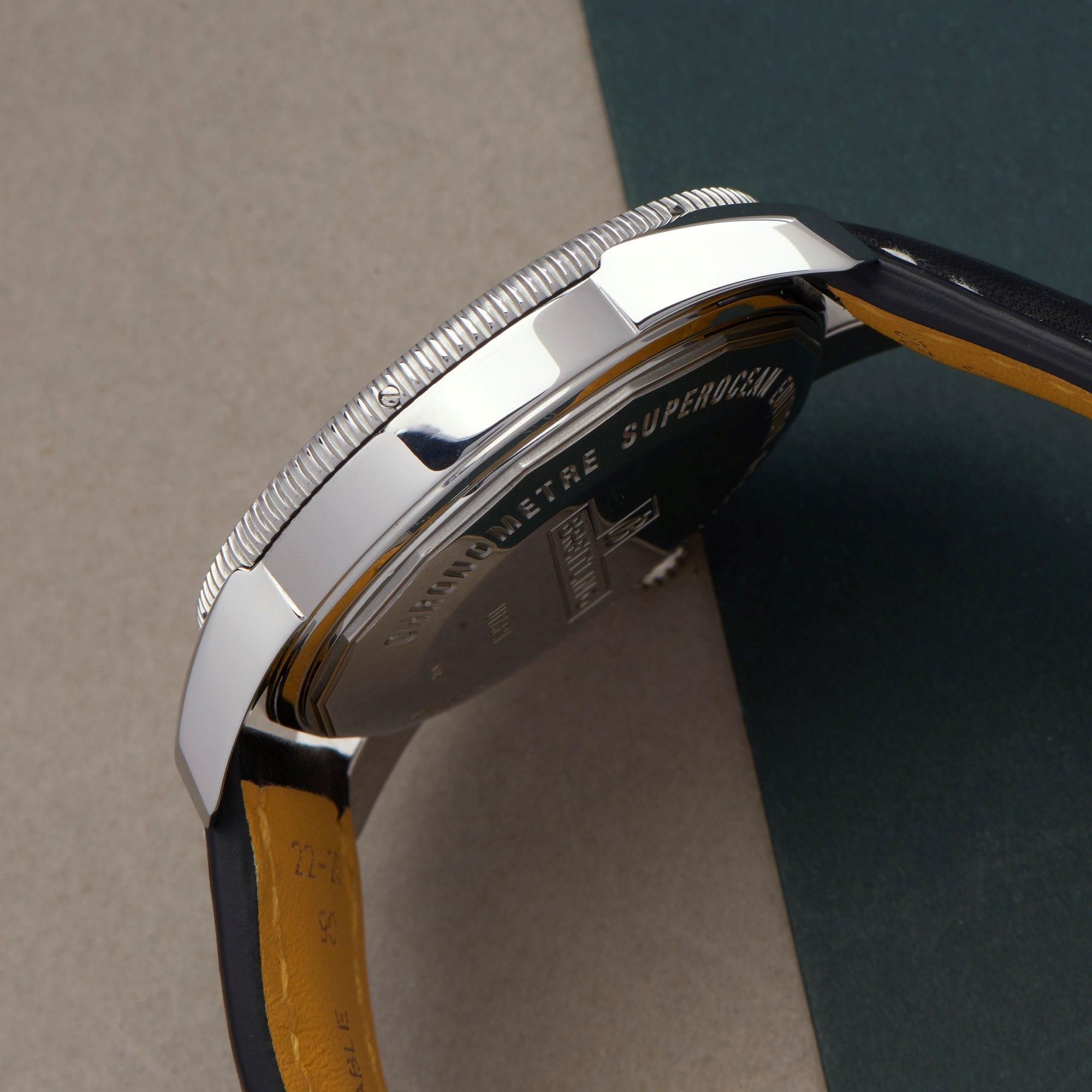 Breitling Superocean Heritage 18K Rose Gold & Stainless Steel 41732112/BA61