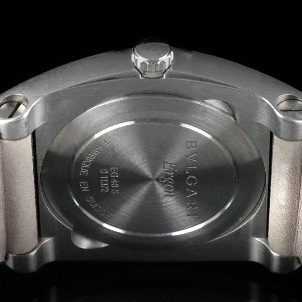 Bvlgari Ergon Stainless Steel EG40BSLD
