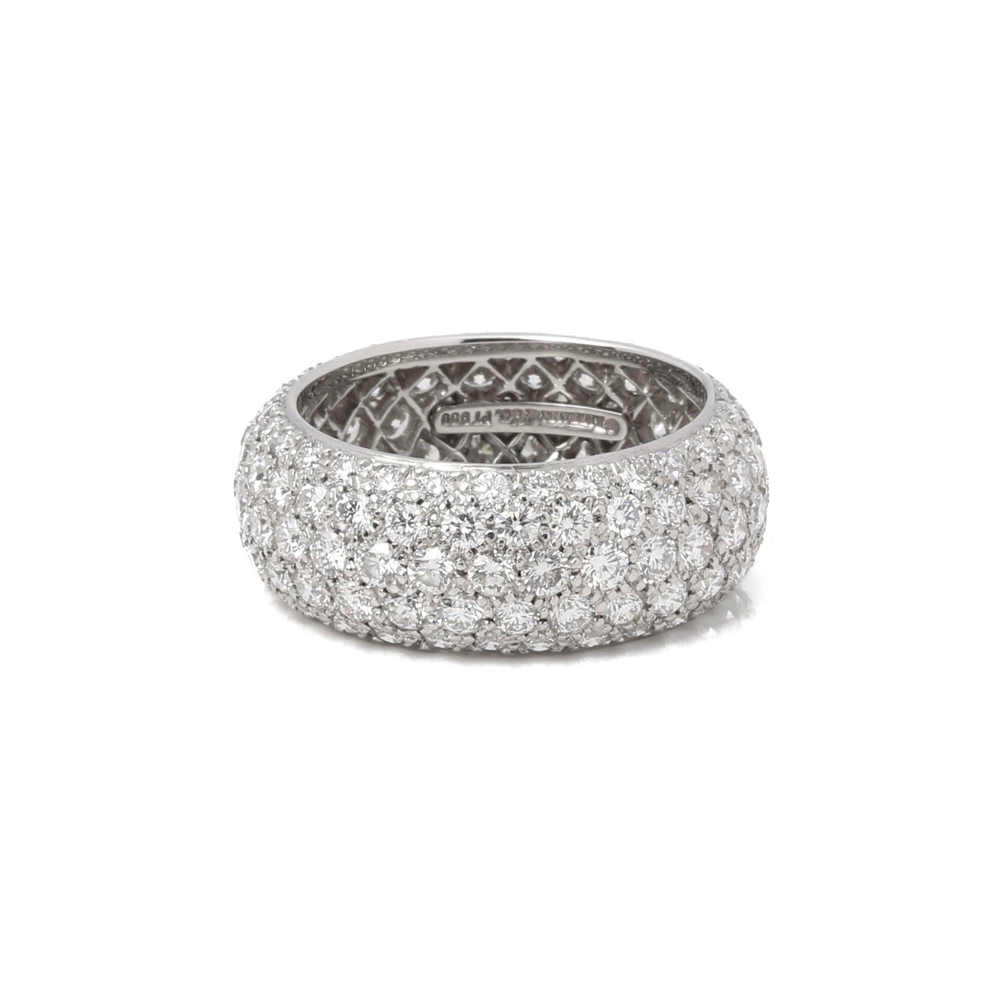 Tiffany & Co. Etoile 5 band diamond ring