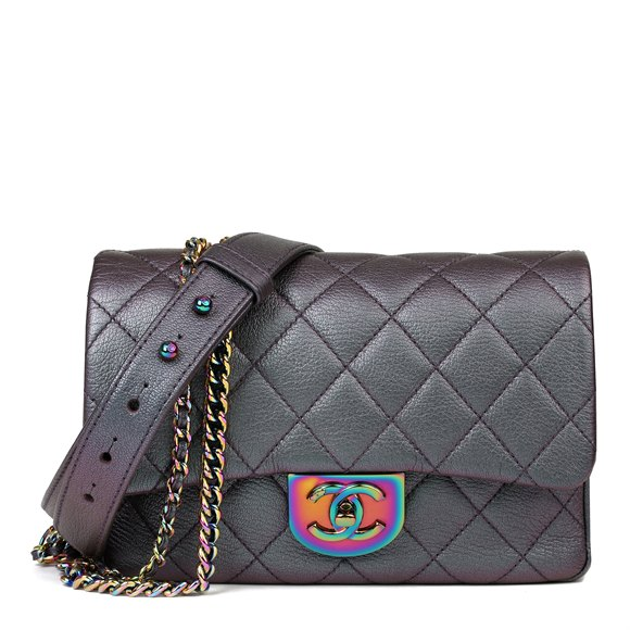 Small Double Carry Flap Bag