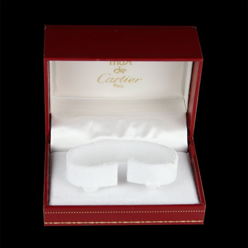 Cartier Must De Cartier 18k Yellow Gold Plated 925 Sterling Silver