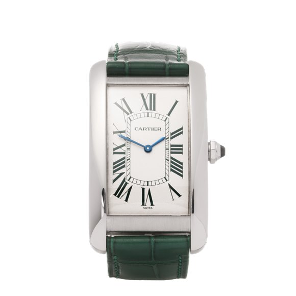 Cartier Tank Americaine Limited Edition of 30 Pieces Platinum - 1734D