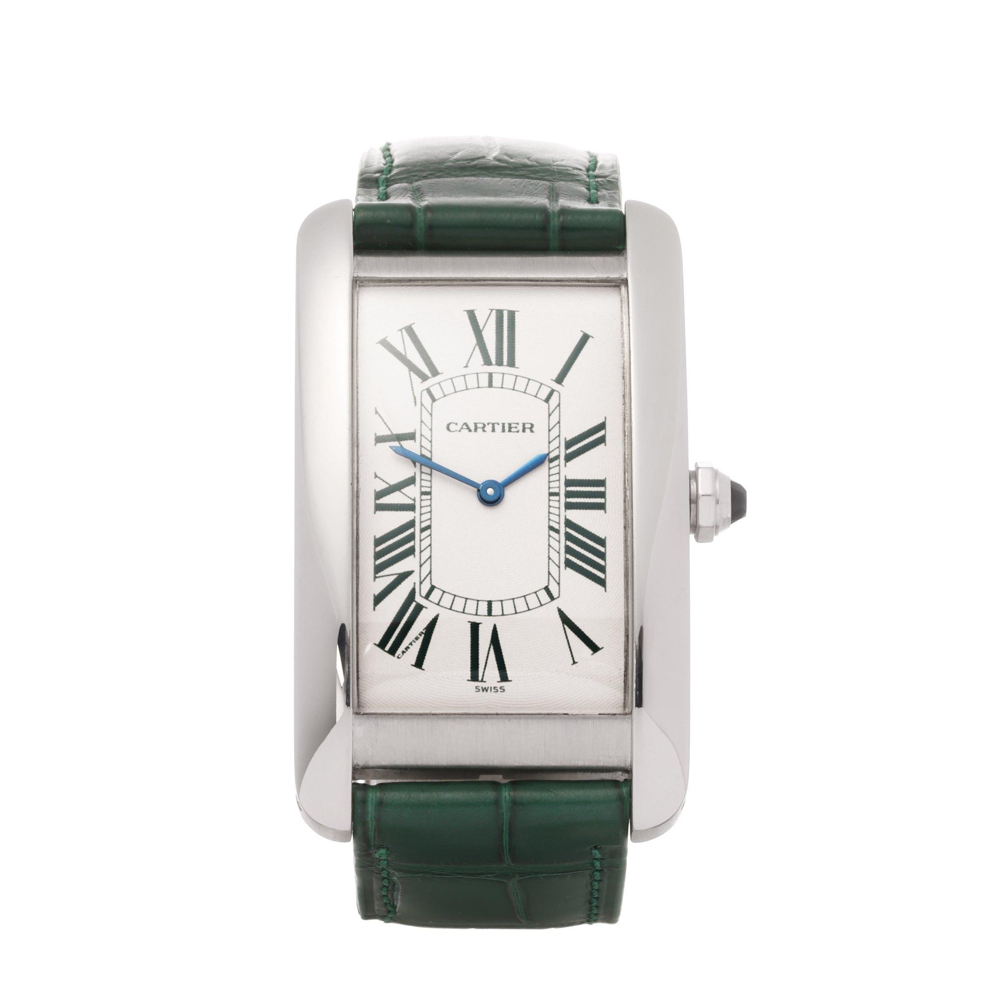 Cartier Tank Americaine Limited Edition of 30 Pieces Platinum - 1734D Platinum 1734D