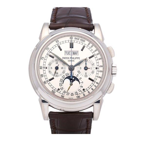 Patek Philippe Complications Perpetual Calendar Chronograph 18K White Gold - 5970G-001
