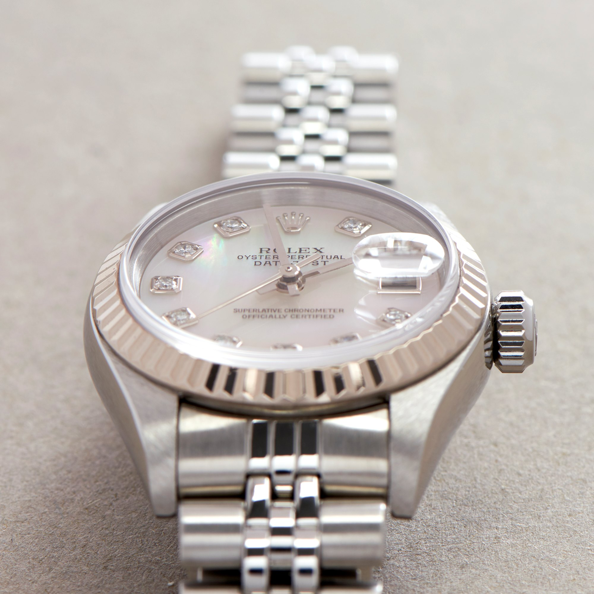 Rolex Datejust 26 18K White Gold & Stainless Steel 79174NG