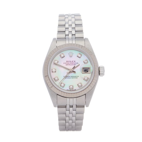 Rolex Datejust 26 18K White Gold & Stainless Steel - 79174NG