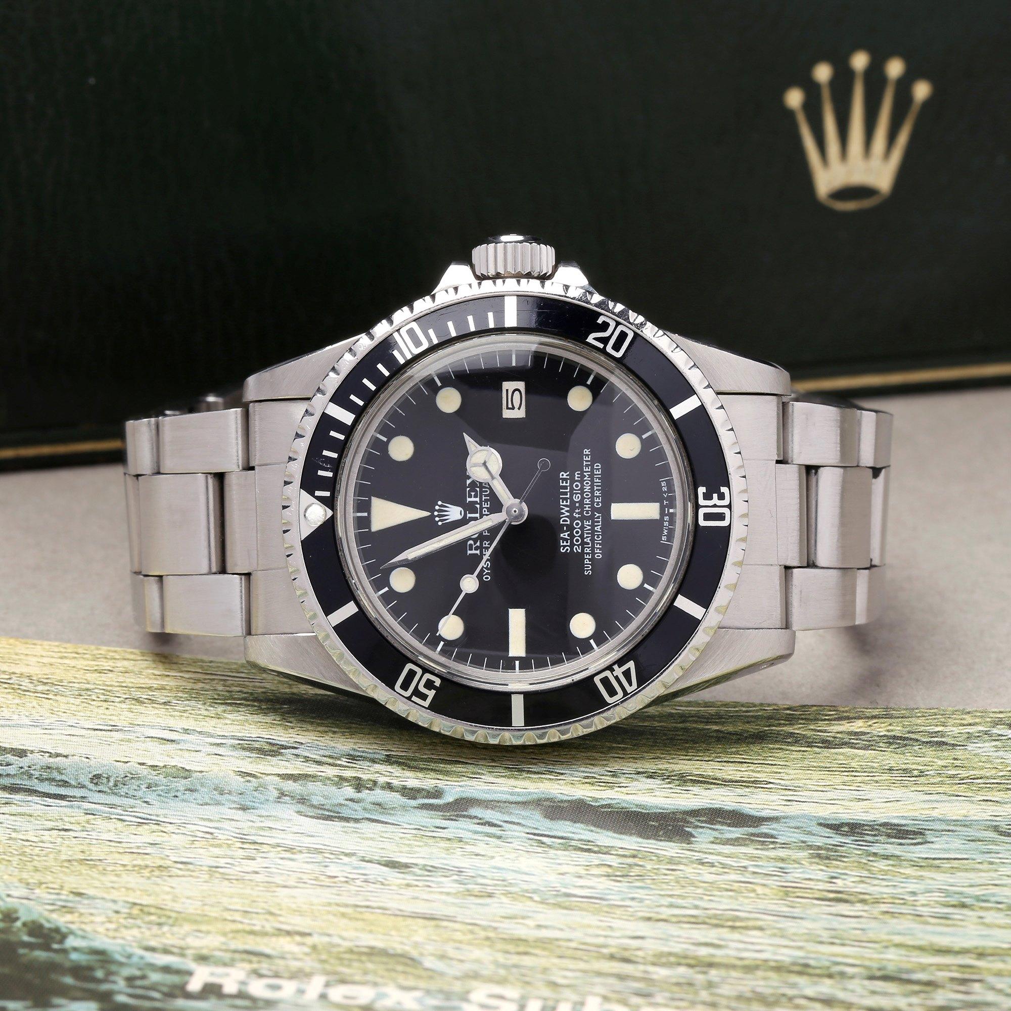 Rolex Sea-Dweller MK1 Dial Stainless Steel 1665