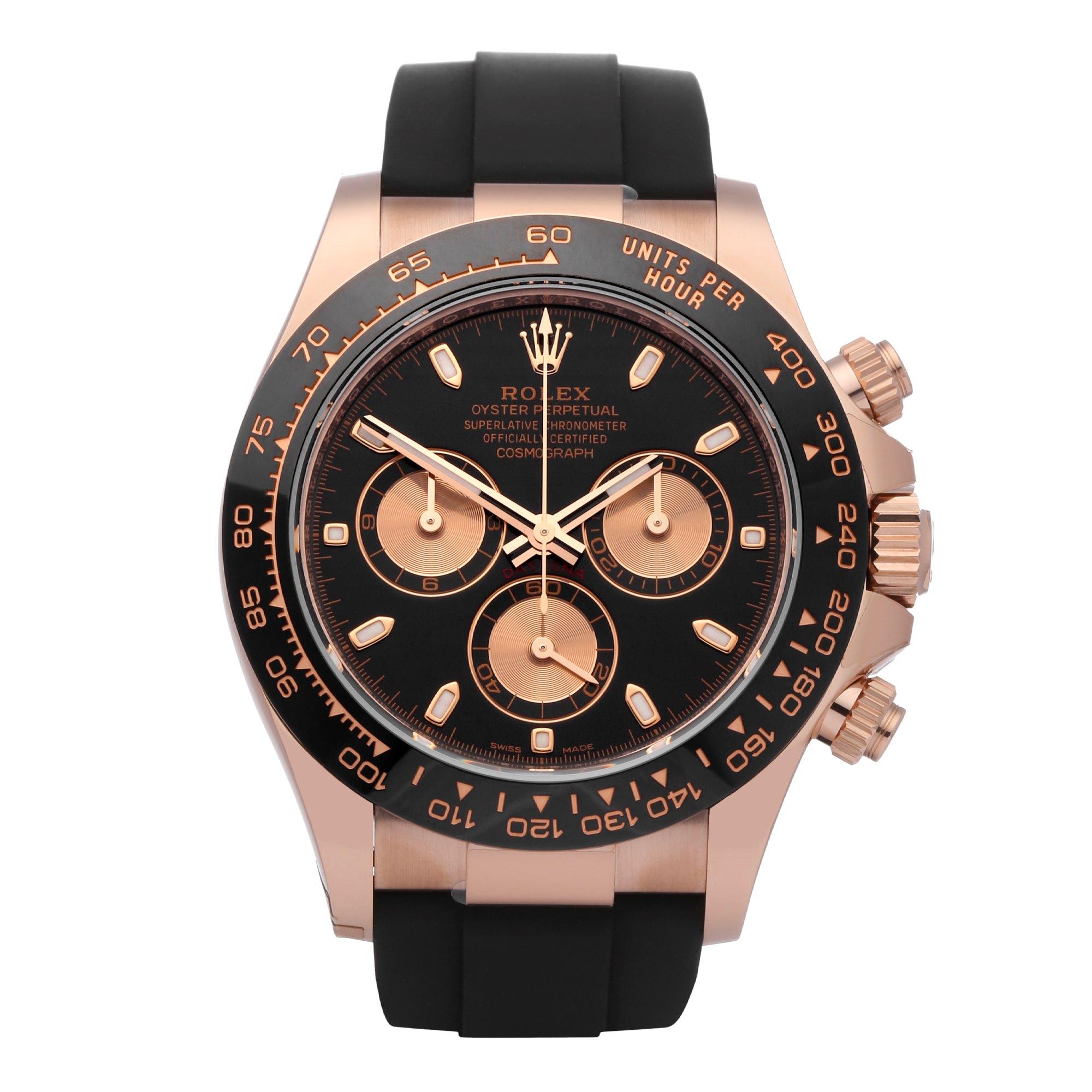 Rolex Daytona 18K Rose Gold 116515LN