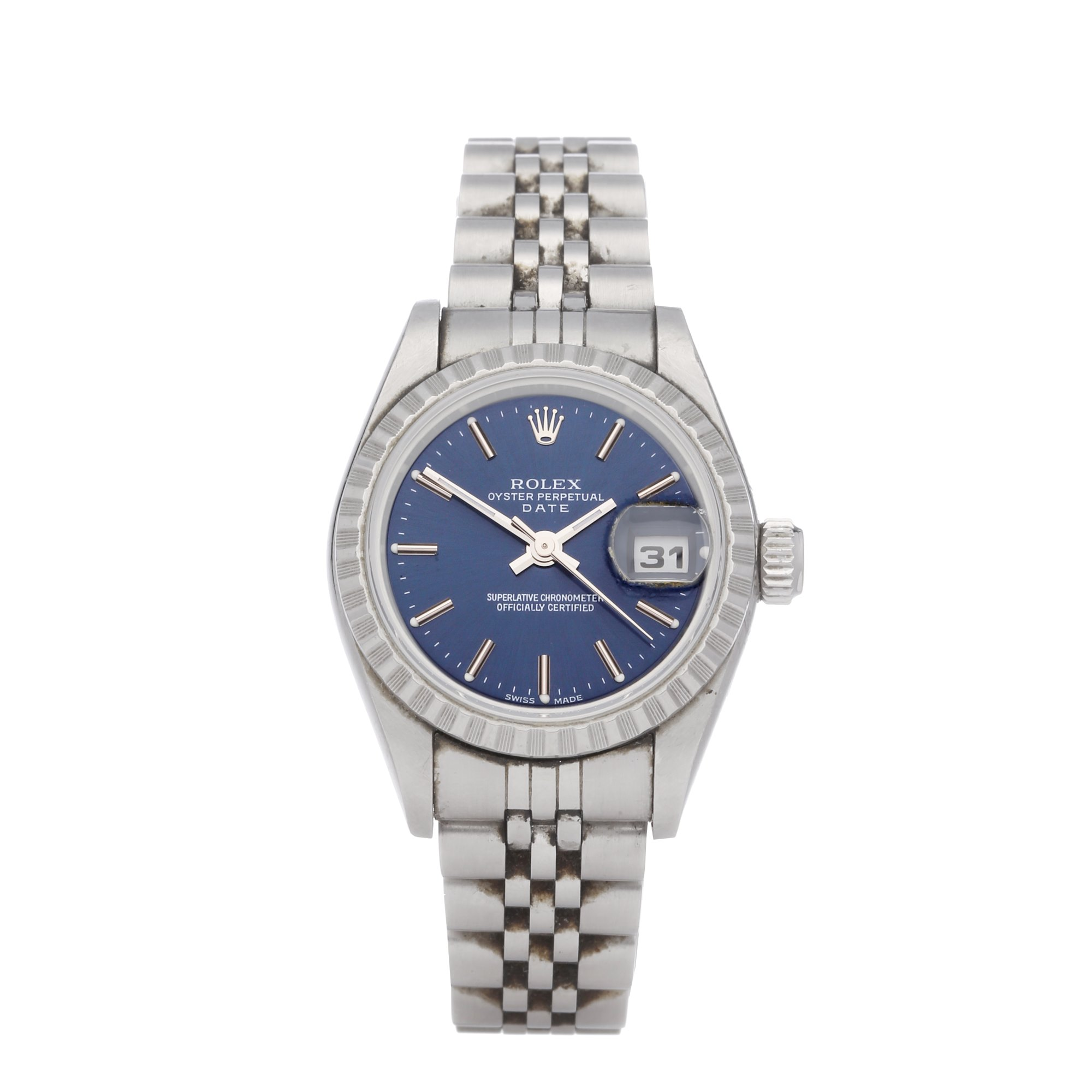 Rolex Oyster Perpetual Date Stainless Steel 79240