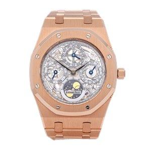 Audemars Piguet Royal Oak 'Jumbo' Perpetual Calendar 18K Rose Gold - 258290R.OO.0944OR.01