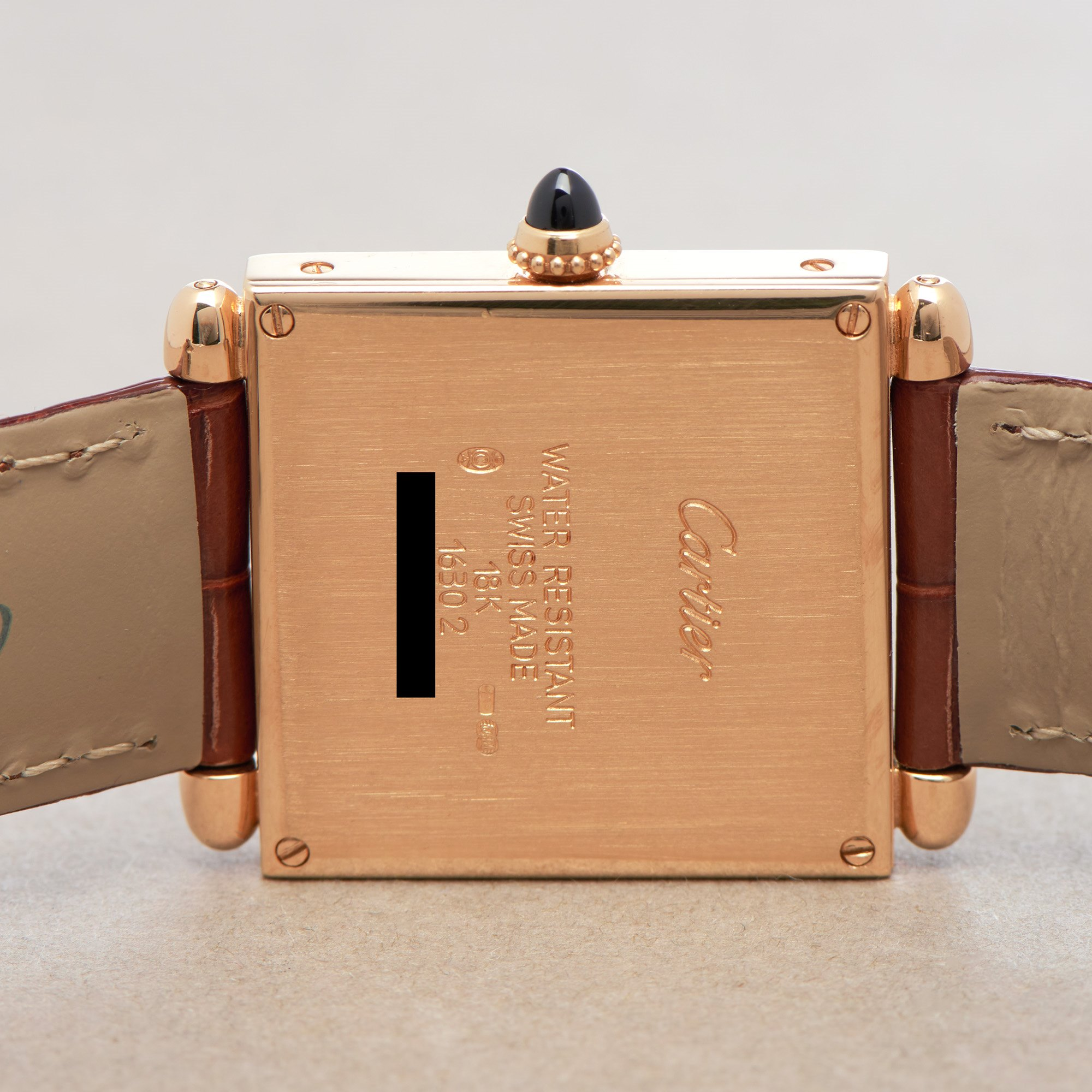 Cartier Tank Obus 18K Geel Goud 16302