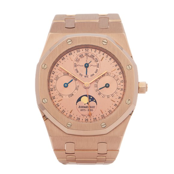 Audemars Piguet Royal Oak Quantieme Perpetual Limited Edition Of 120 Pieces 18K Rose Gold - 25810OR.OO.0944OR.01