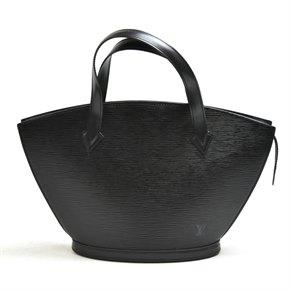 Louis Vuitton Black Epi Leather Saint Jacques PM