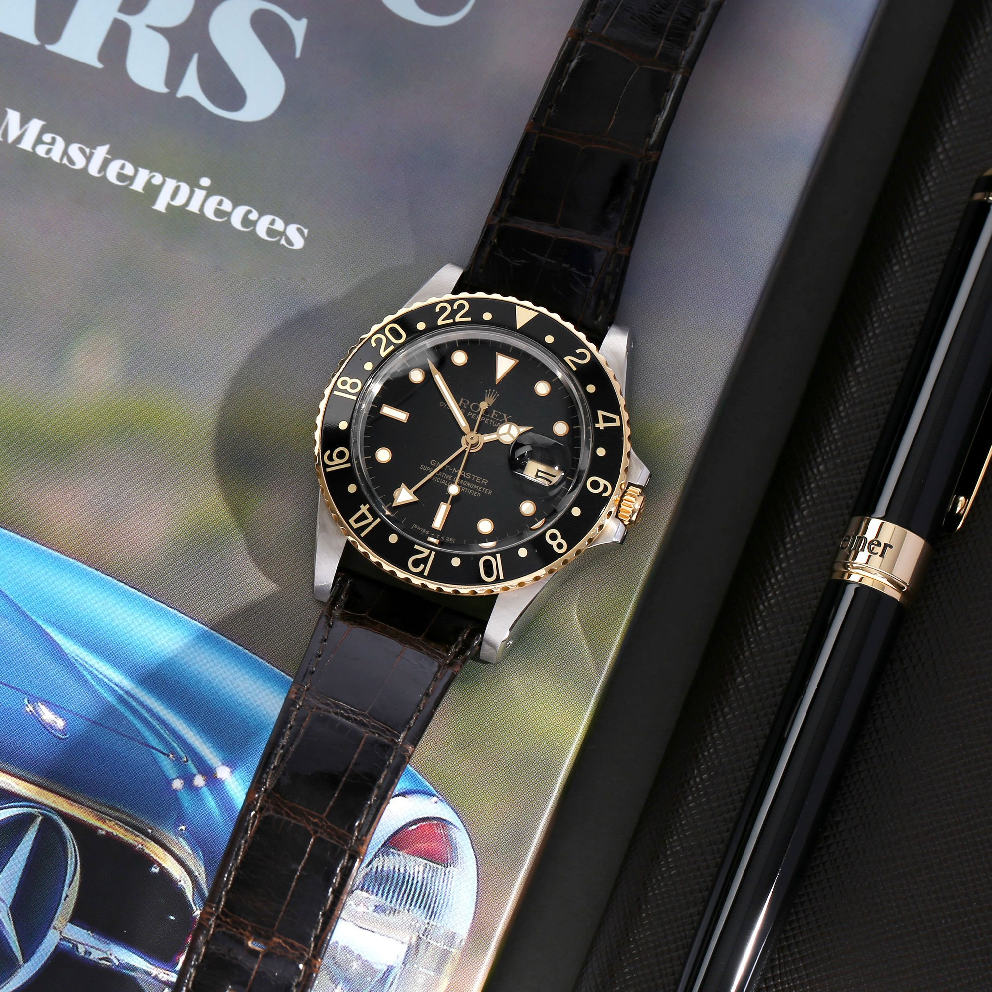 Rolex GMT-Master 18K Yellow Gold & Stainless Steel 16753