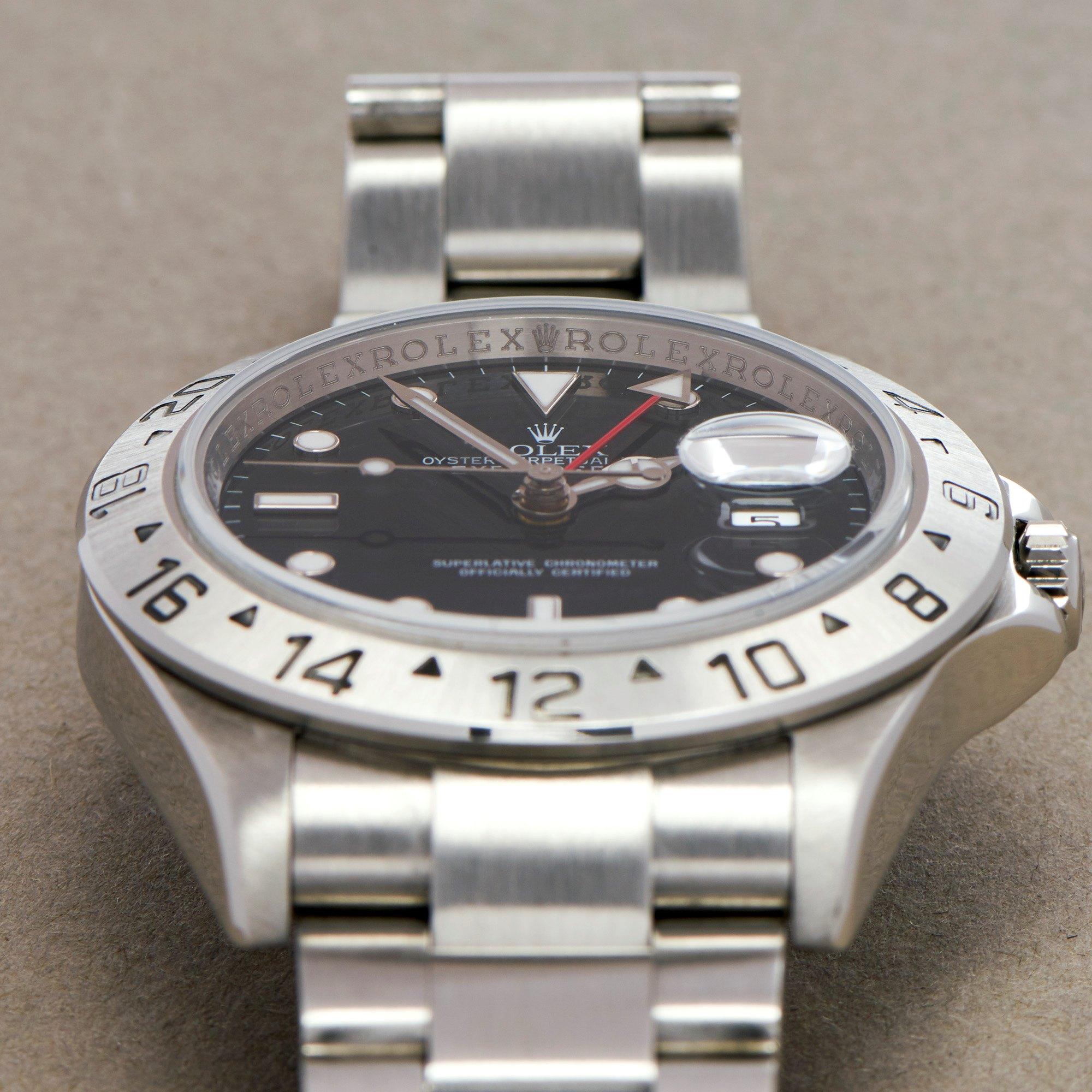 Rolex Explorer II Stainless Steel 16570
