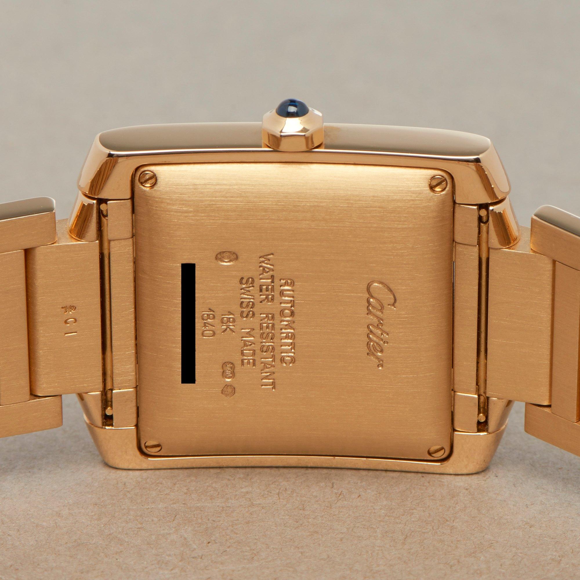 Cartier Tank Francaise 18K Yellow Gold 1840