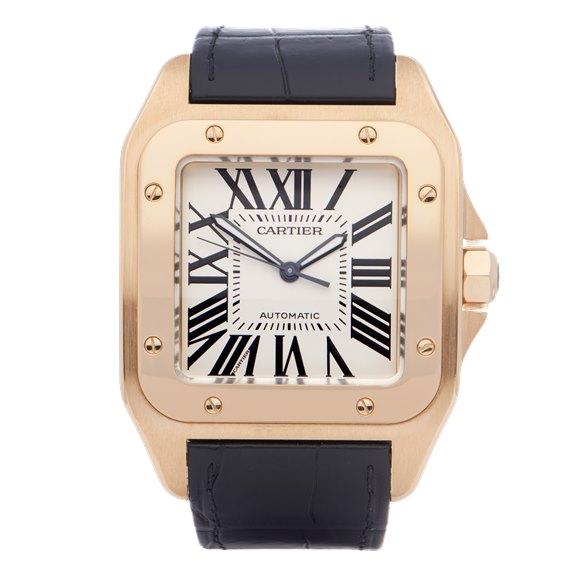 Cartier Santos 100XL 18K Yellow Gold - 2657 or W20071Y1