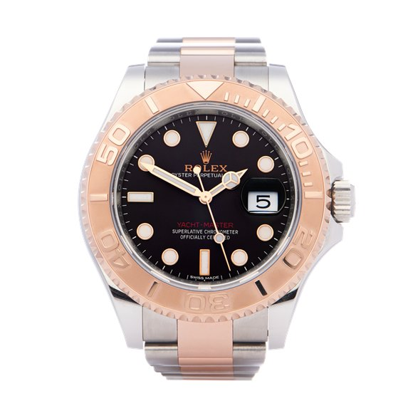 Rolex Yacht-Master 18K Rose Gold & Stainless Steel - 116621