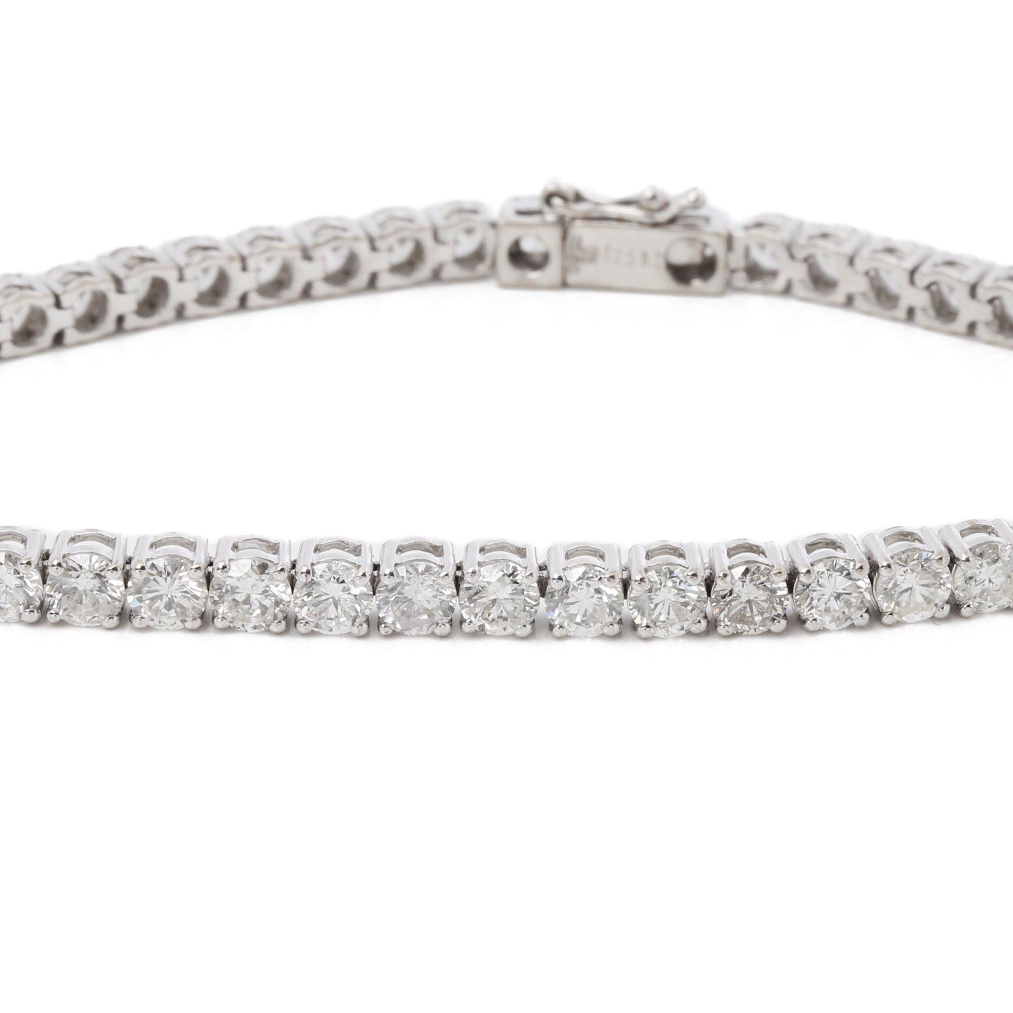 Diamanten 7.95ct Tennis Bracelet