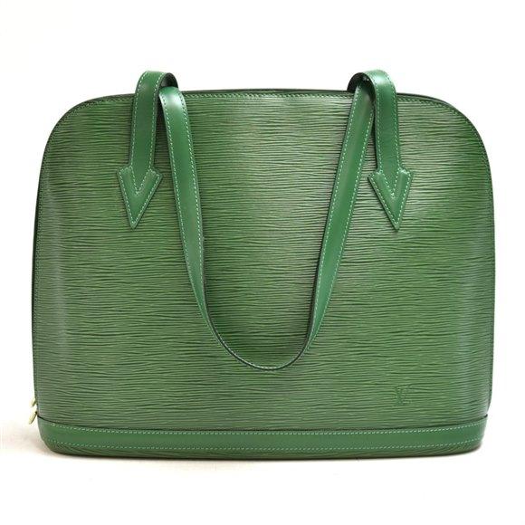 Louis Vuitton Green Epi Leather Vintage Lussac