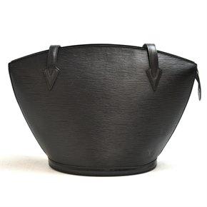 Louis Vuitton Black Epi Leather Vintage Saint Jacques GM
