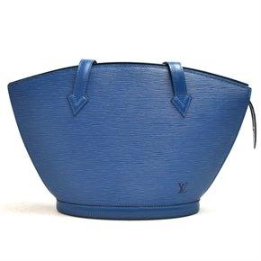 Louis Vuitton Blue Epi Leather Vintage Saint Jaques