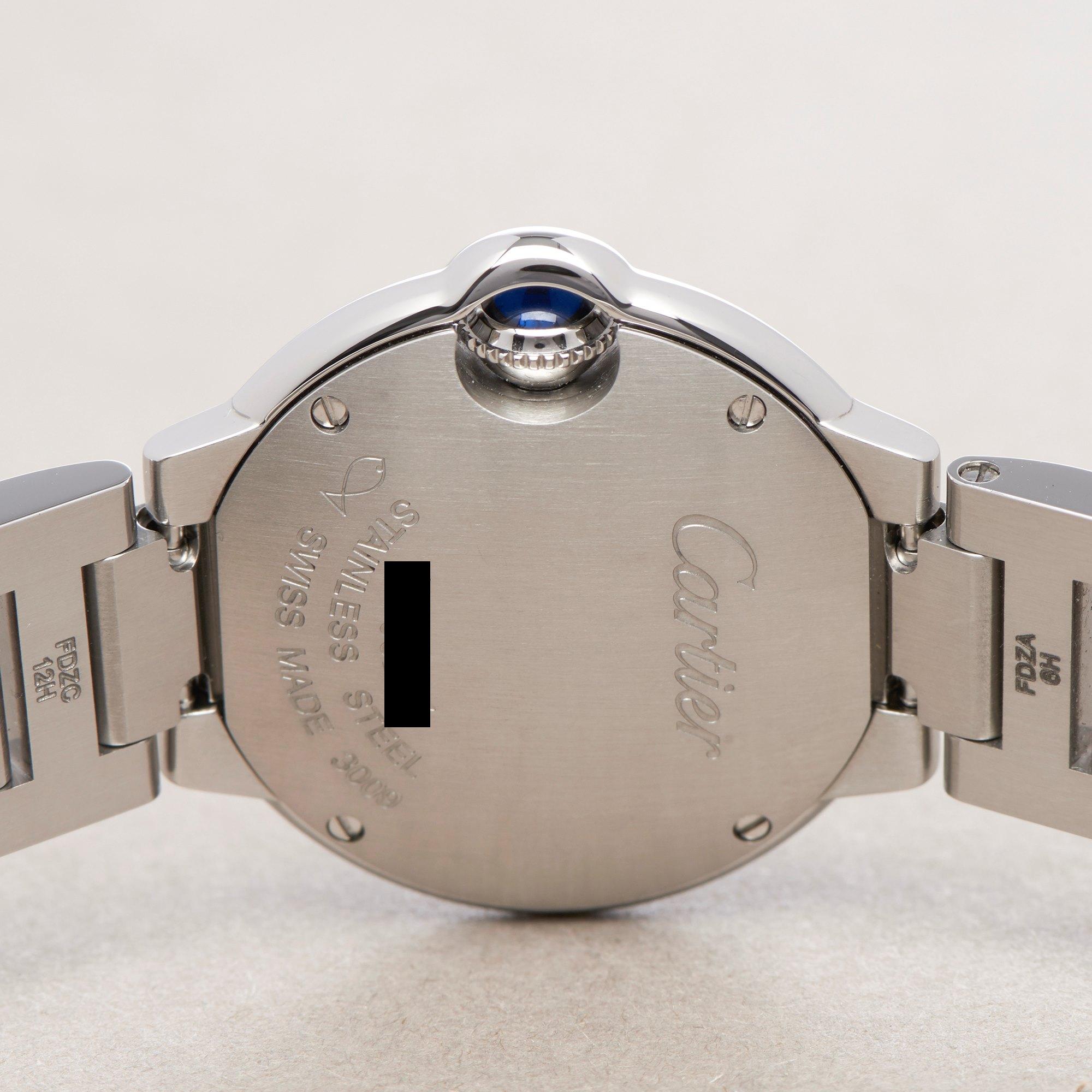 Cartier Ballon Bleu Roestvrij Staal 3009 or W69010Z4