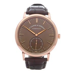 A. Lange & Söhne Saxonia 18K Rose Gold - 380.042