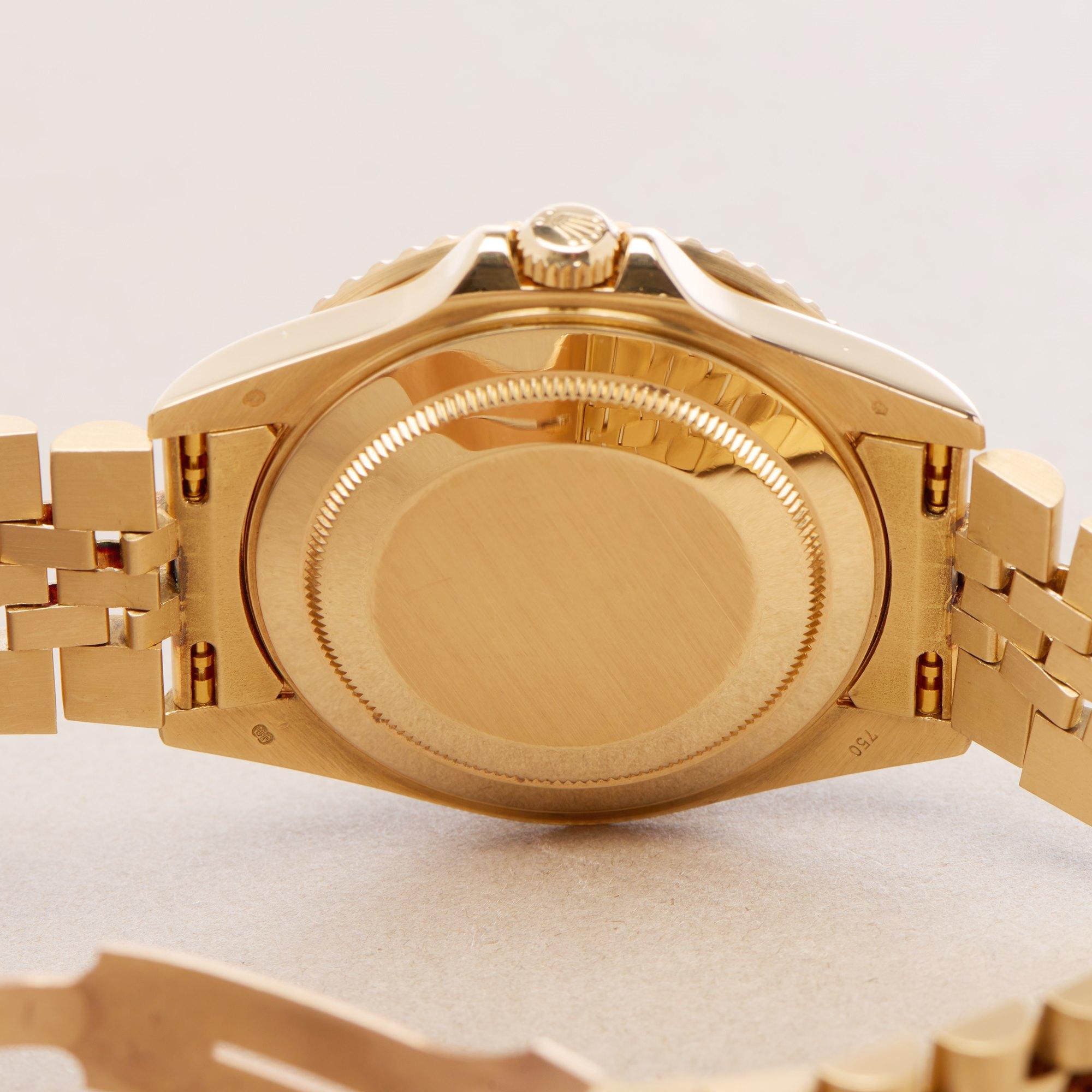 Rolex GMT-Master II Serti Dial 18K Yellow Gold - 16718 Yellow Gold 16718