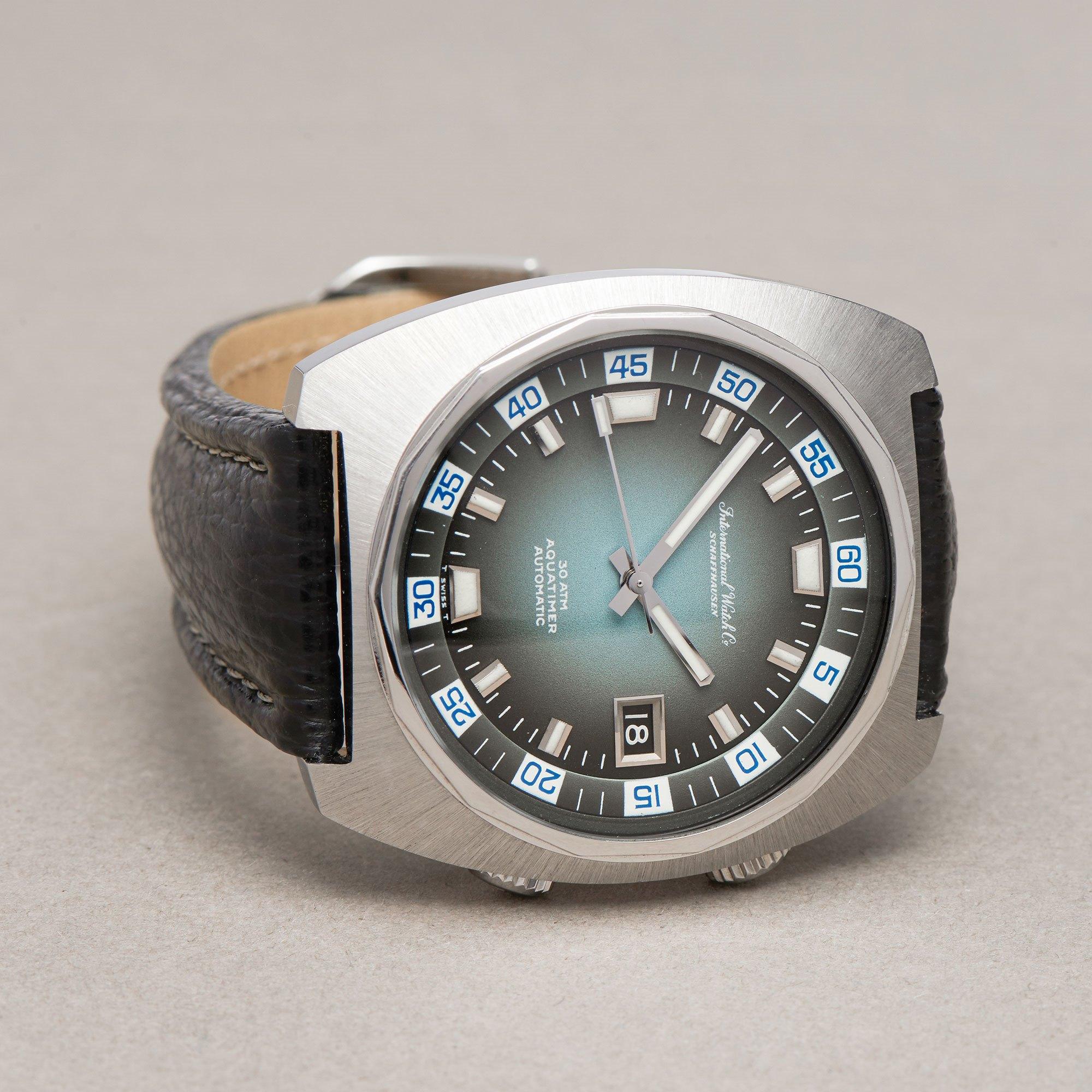 IWC Aquatimer Roestvrij Staal R816A