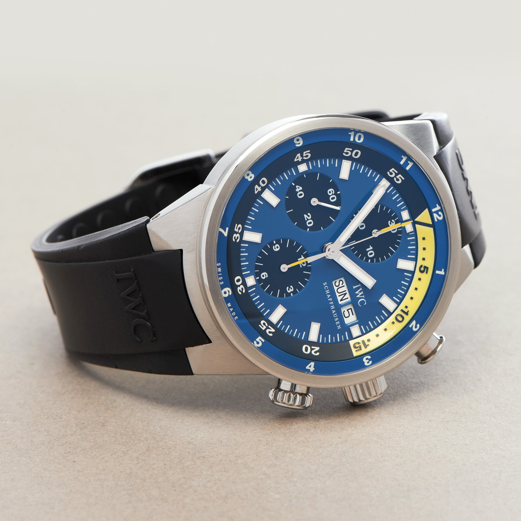 IWC Aquatimer Tribute To Calypso Ltd Edition of 2500 Stainless Steel IW378203