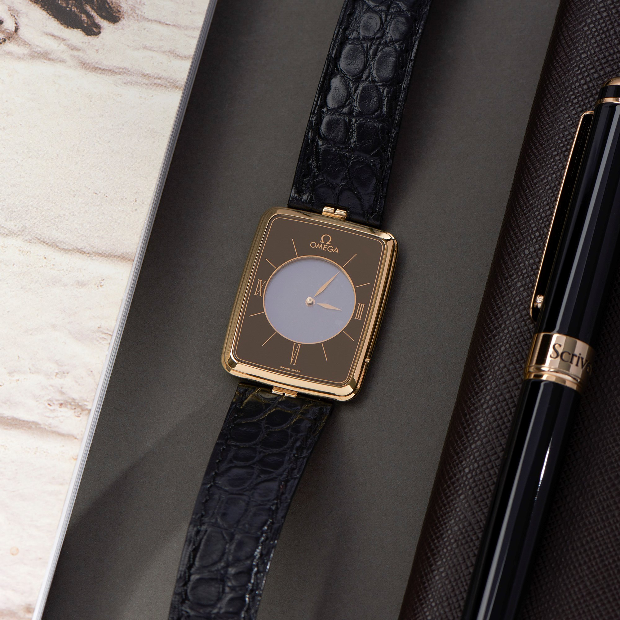Omega La Magique Scarface 18K Yellow Gold - 191.8523Z Yellow Gold 191.8523Z