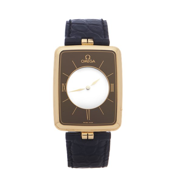 Omega La Magique Scarface 18K Yellow Gold - 191.8523Z
