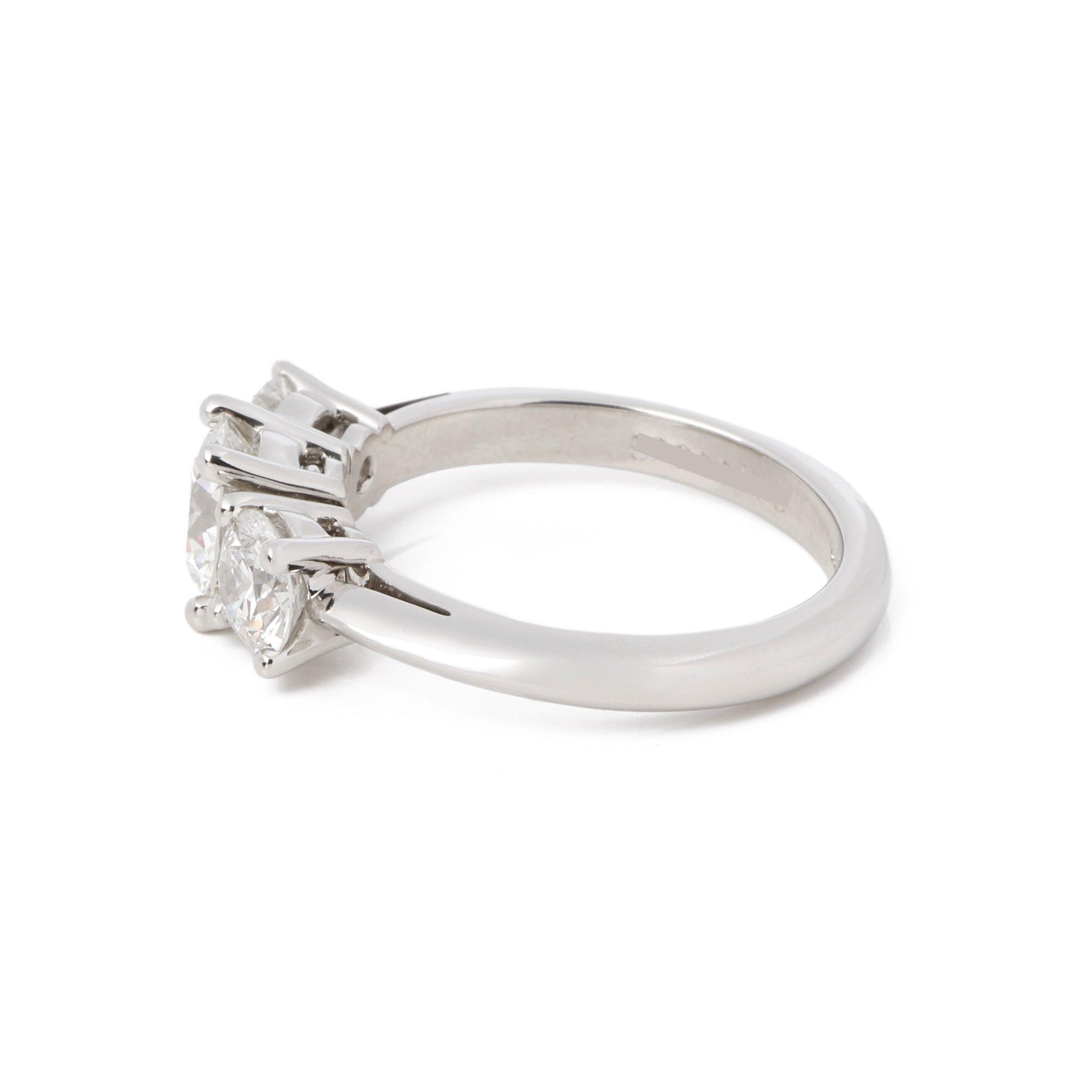 Tiffany & Co. 1.4ct Diamond Trilogy Ring
