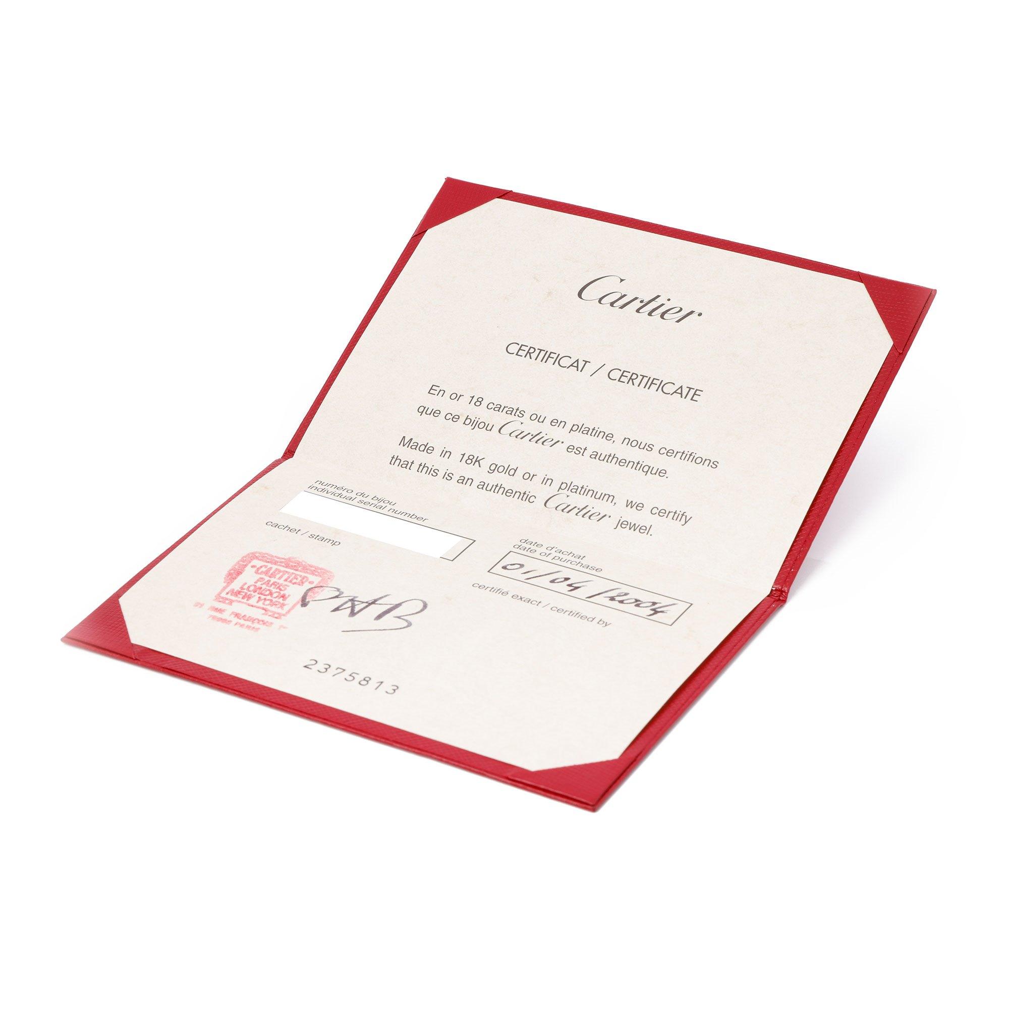 Cartier C de Cartier 18ct gold Charm Pendant
