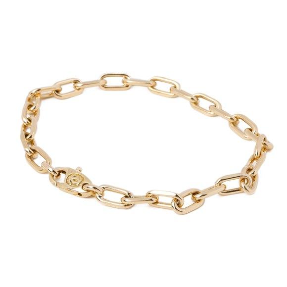 Cartier Santos 18ct gold bracelet