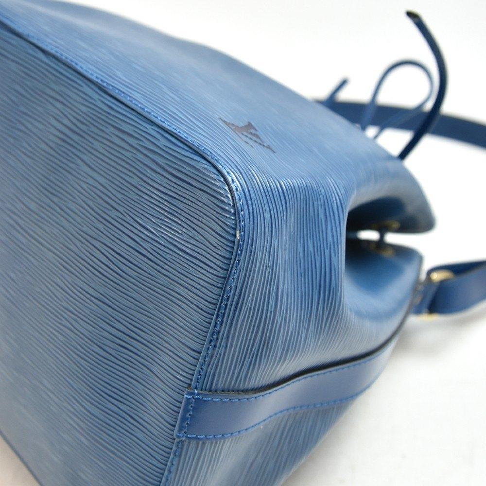 Louis Vuitton Blue & Red Epi Leather Vintage Petit Noé