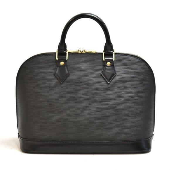 Louis Vuitton Black Epi Leather Vintage Alma