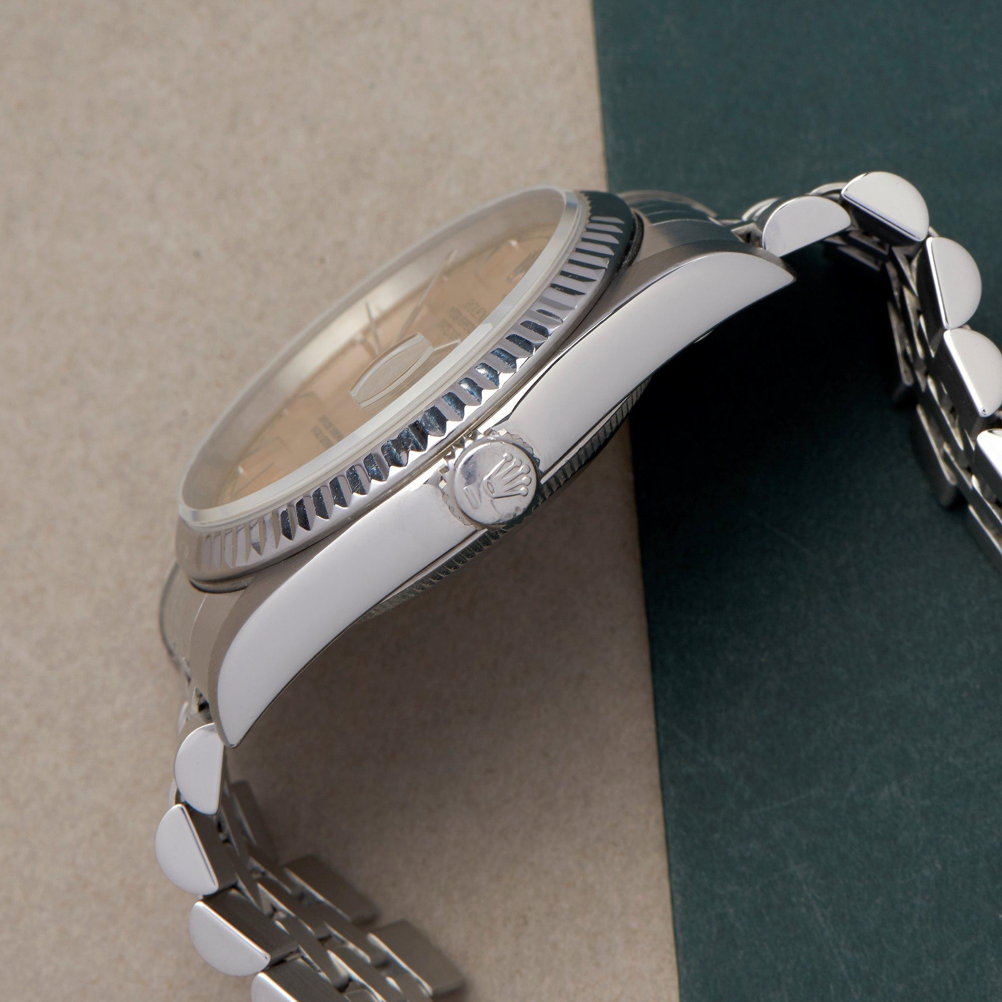 Rolex Datejust Stainless Steel 16200