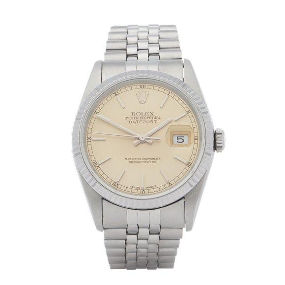 Rolex Datejust Stainless Steel - 16200
