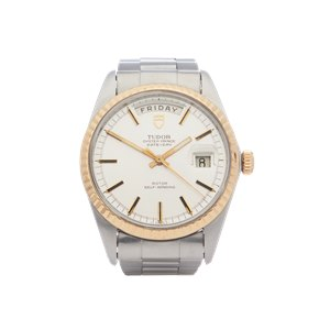 Tudor Date Day 18K Yellow Gold & Stainless Steel - 7017/0