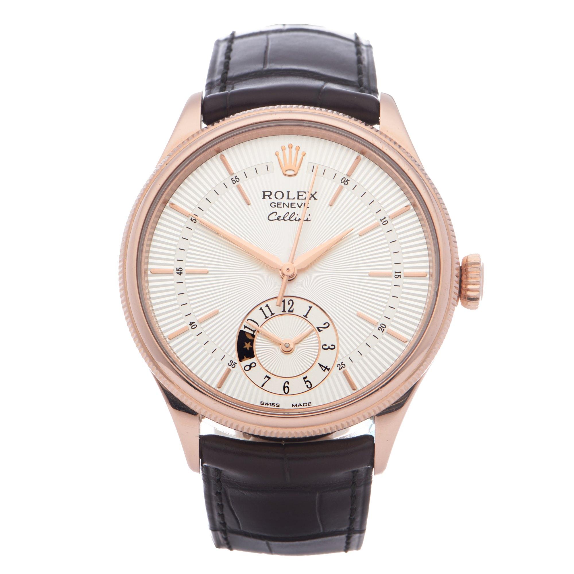 Rolex Cellini 18K Rose Gold 50525